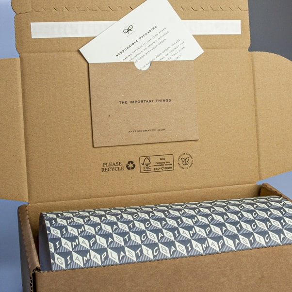 Anya Hindmarch Eco-Friendly Packaging